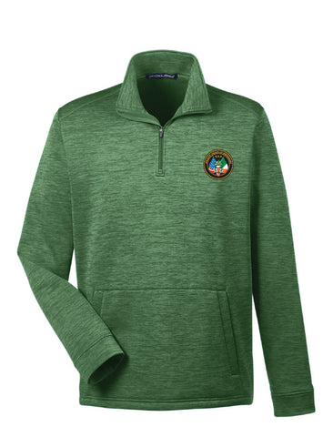 Devon & Jones Sporty Fleece Quarter-Zip