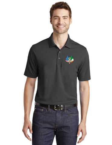 AOH Embroidered Wicking Short Sleeve Polo
