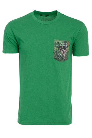 Irish to the Bone Full Print Pocket Tee