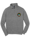Sport-Tek® 1/4-Zip Sweatshirt with circle logo