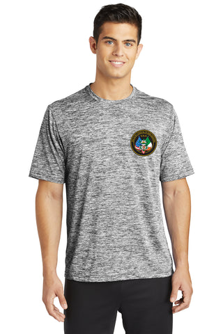 Sport-Tek® PosiCharge® Electric Heather Tee with Logo Options!