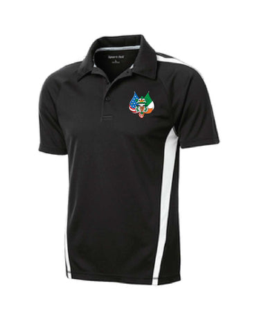 AOH Embroidered Micro-Mesh Polo