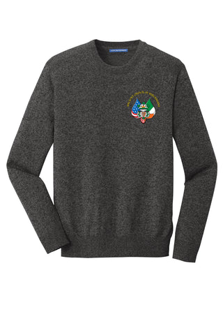 Port Authority ® Marled Crew Sweater