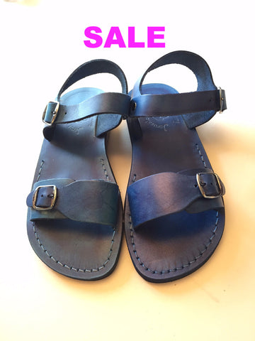 "Jerusalem Sandals ""The Original"" Sandal - Blue"