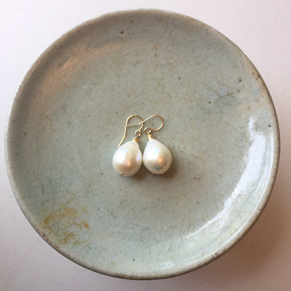 Peace_A_Porter Baroque Pearl Earrings - No. 3