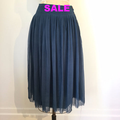 Sula Marie Skirt - Orion Blue - X-Small Only