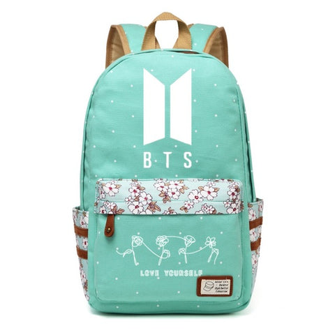 BTS Logo Travel Bag KPop Outfit Bags - KPop Outfit