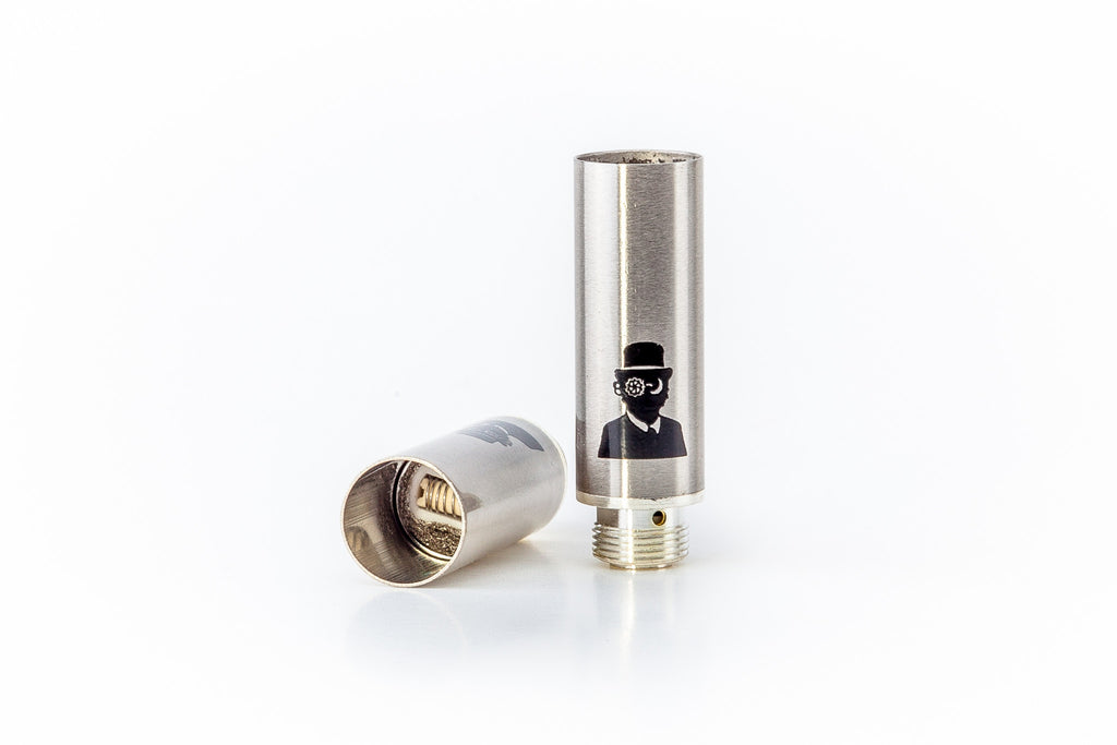 V2 Concentrate Cartridge (2-pack) -- Hash Oil Atomizer