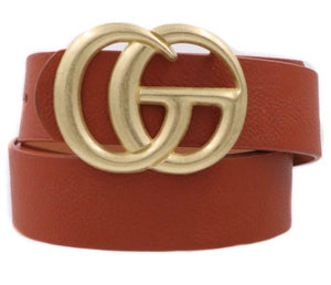 Brown GG Belt