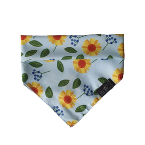 "Bandana ""Sunflower"" - Glammah Pooch Boutique"