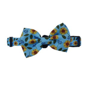 Collar & Bow - Sunflower - Glammah Pooch Boutique