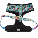 Unicorn Harness and Leash Blue - Glammah Pooch Boutique