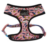 Unicorn Harness and Leash Pink - Glammah Pooch Boutique