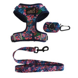 Tropical Oasis Poop Bag Holder - Glammah Pooch Boutique