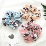 Blue Scrunchie - Glammah Pooch Boutique
