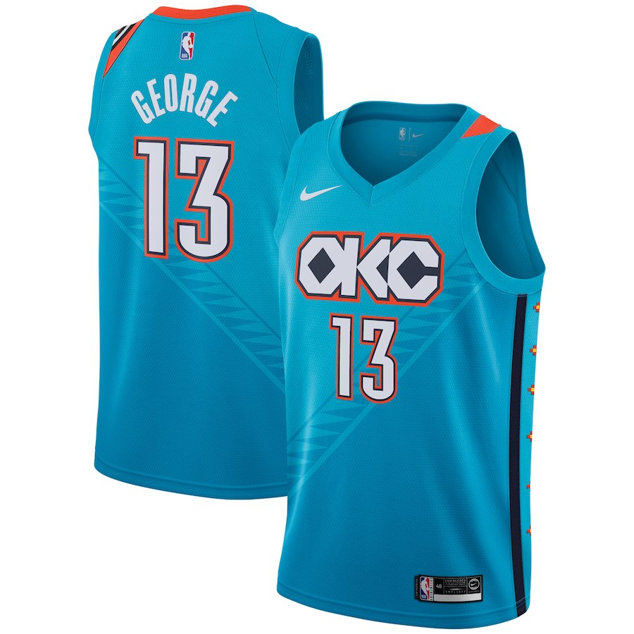 Paul George City Jersey