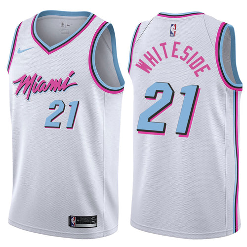 Whiteside City White Jersey