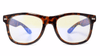 Arch Duke with Blue Light + Lenses with Tortoise Shell Frames by Tomahawk Shades