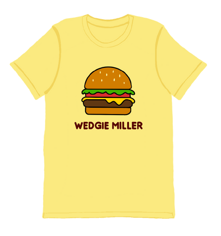 Wedgitarian Cheeseburger