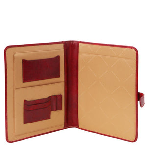 Internal View Of The Red Office Document Case