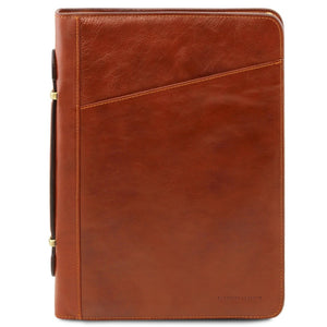 Front View Of The Honey Exclusive Leather Portfolio