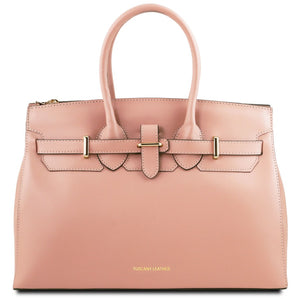 Front View Of The Ballet Pink Ladies Handbag