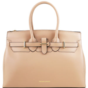 Front View Of The Nude Ladies Handbag