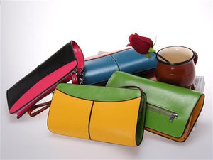Assorted View Of The Jen Womens Leather Purse