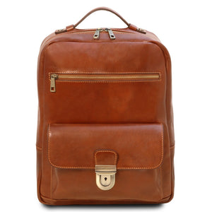 Front View Of The Honey Stylish Laptop Backpack