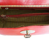 Internal View Of The Red Ladies Duffle Bag
