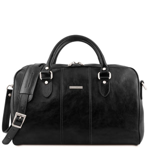 Second Individual Bag View Of the Black Leather Travel Set
