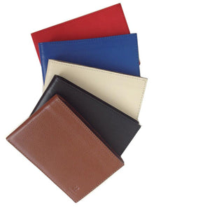 The Versatile Color Range Of The Lizandez Unisex Leather Passport Wallet