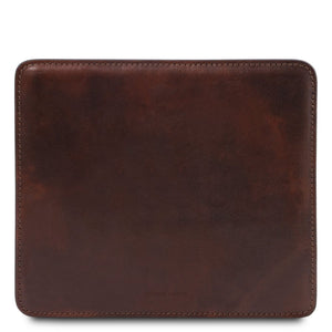 Mouse Pad View, Part Of The Dark Brown Luxury Leather Desk Set