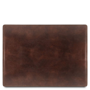 Desk Pad View, Part Of The Dark Brown Luxury Leather Desk Set