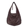 Leather Shoulder Bag / Malbec