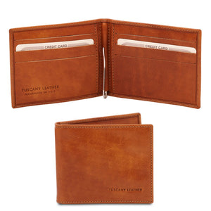 Front View Of The Honey Money Clip Card Holder