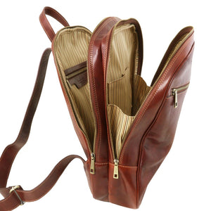Osaka Leather Laptop Backpack
