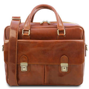 Front View Of The Honey Laptop Briefcase Bag