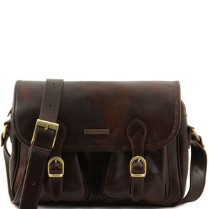 San Marino Leather Travel Bag