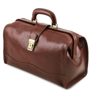 Angled View Of The Brown Doctors Bag