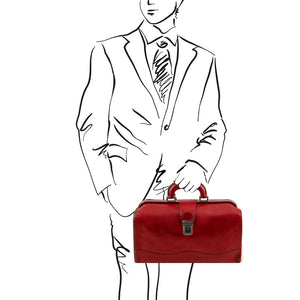 Sketch of Man Posing With The Red Doctors Bag