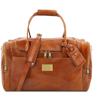Front View Of The Honey Mens Travel Bag