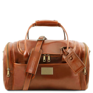 Front View Of The Honey Mens Travel Bag Small