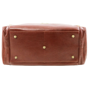 Traditional Voyager Leather Travel Bag