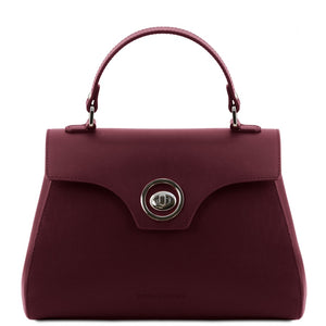 Front View Of The Bordeaux Womens Duffle Bag