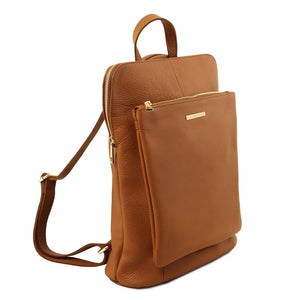 Women's Soft Leather Backpack