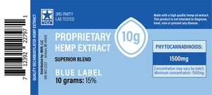 US Hemp - Blue Label Proprietary Hemp Extract