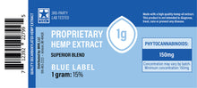 Load image into Gallery viewer, US Hemp - Blue Label Proprietary Hemp Extract