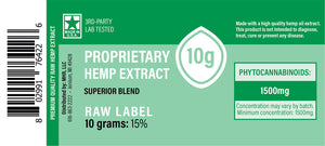 US Hemp - Green Label Proprietary Hemp Extract