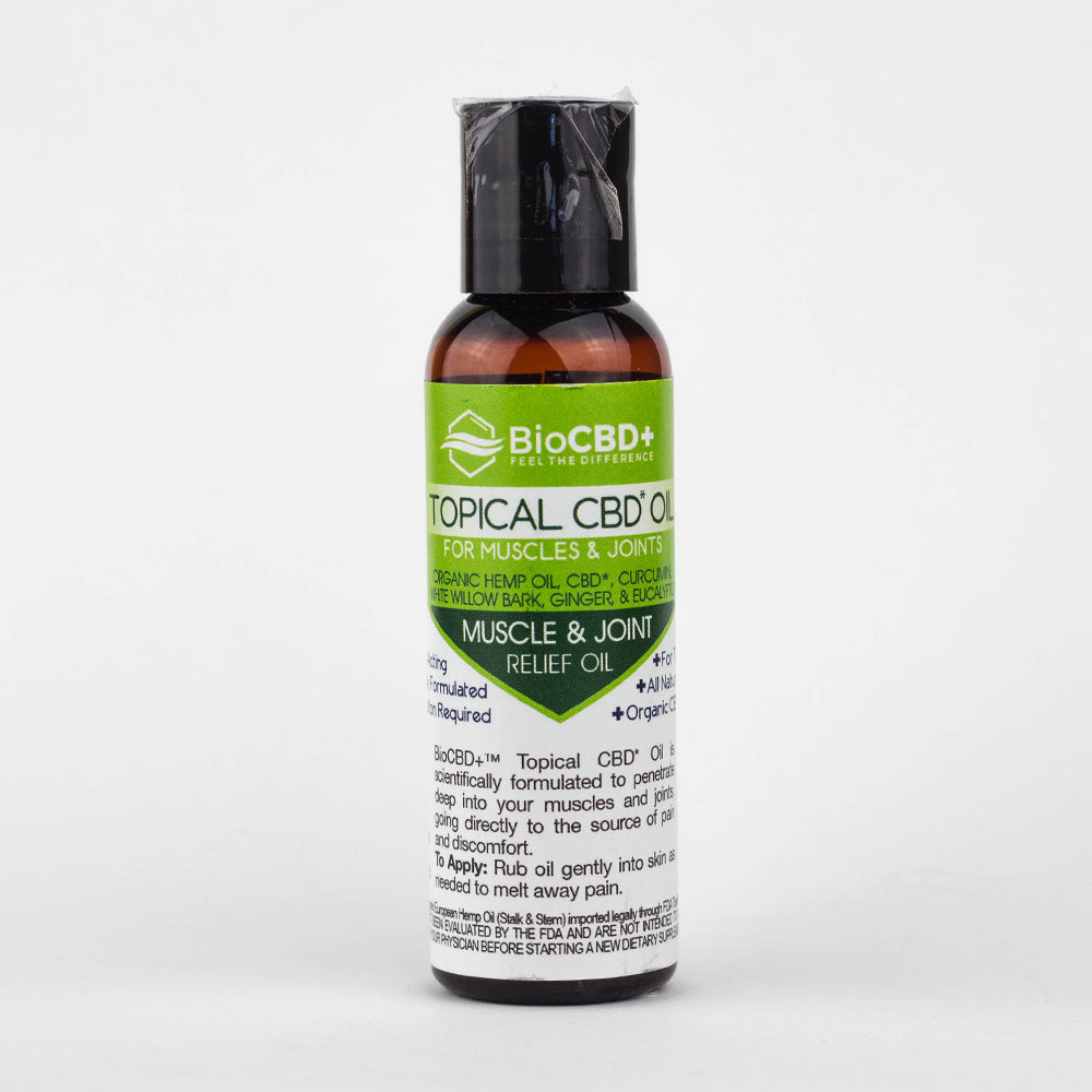 BioCBD Topical Oil For Muscles & Joints
